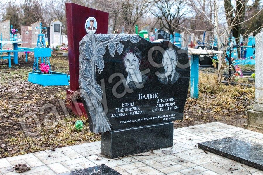 Памятники двойной фото луга памятники из гранита рязань кирсанов